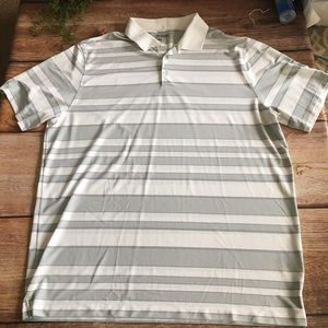Nike Golf men's XXL dri-fit striped polo